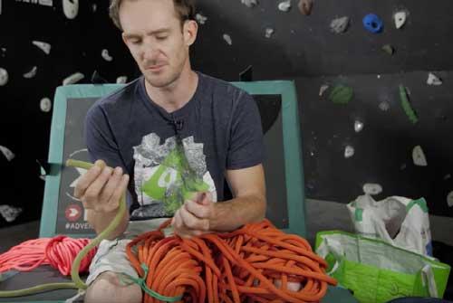 Sélection de cordes d'escalade École Escalade de rocher et escalade de glace | Roc et glace escalade